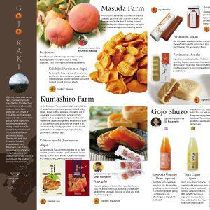 五条市柿グランディング 海外向けパンフレット